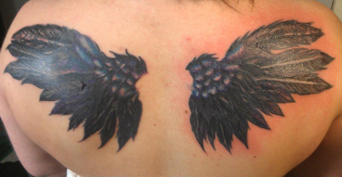 Flügel Tattoos und die Bedeutungen alletattoo.de 9