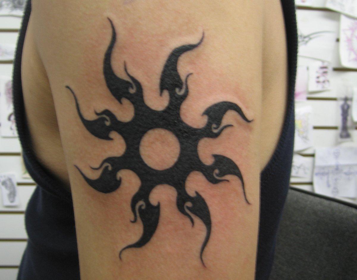 Tribal (Stammes) Tattoos und die Bedeutungen alletattoo.de 25