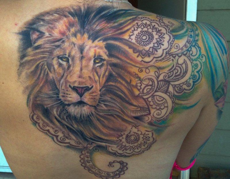 Löwen Sternzeichen Tattoos