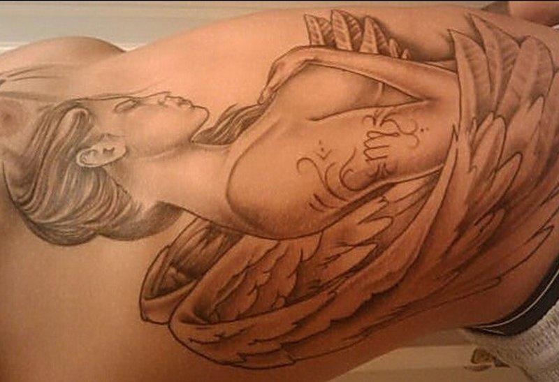 Jungfrau-Sternzeichen-Engel-Tattoo-Seiten